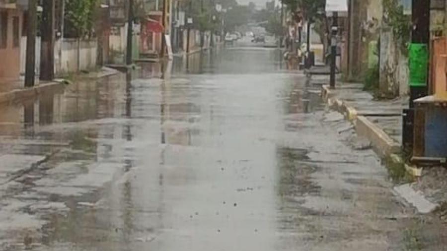 Se coordinan diversas autoridades por efectos de lluvia en Madero