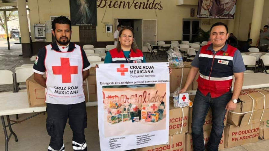 Descarta Cruz Roja Reynosa síntomas de Ébola en migrantes