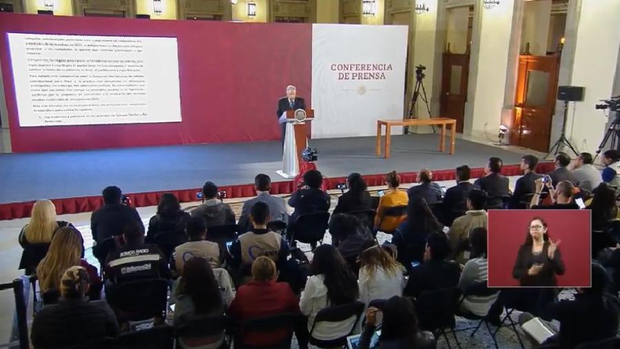 Reelección, apoyos, Odebrecht, esto y más en conferencia matutina de AMLO