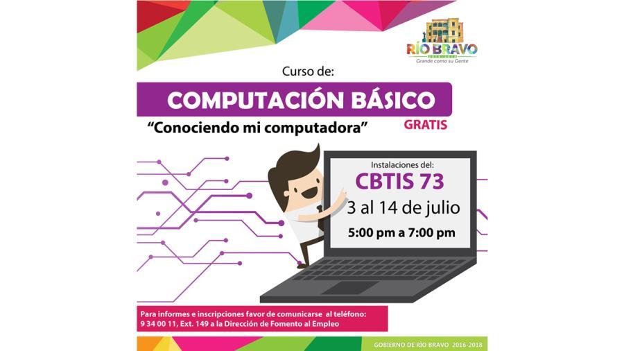 Ayuntamiento invita a cursos de computación