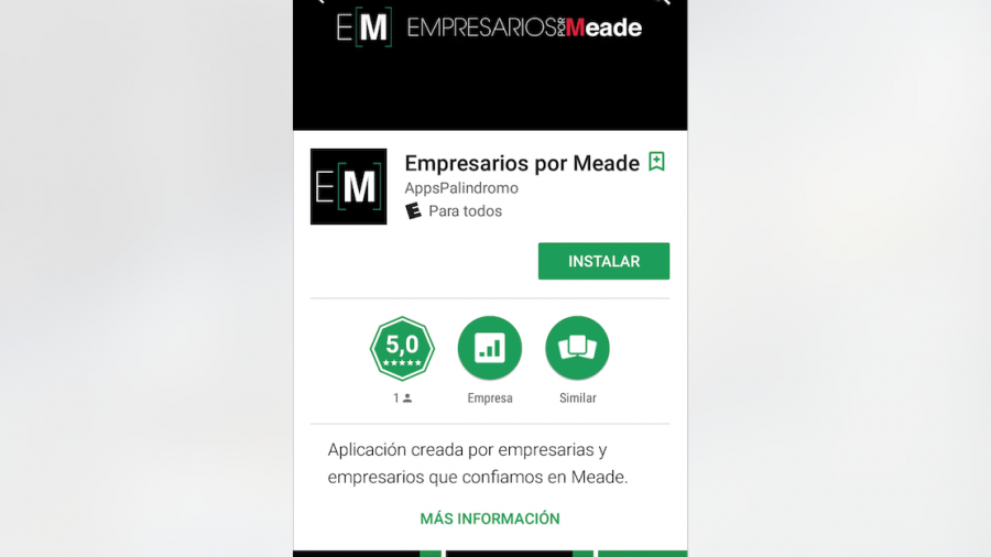 """Crean App """"Empresarios por Meade"""""""