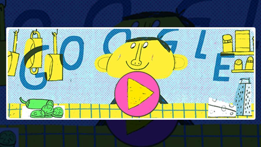 Google celebra a los nachos con un doodle