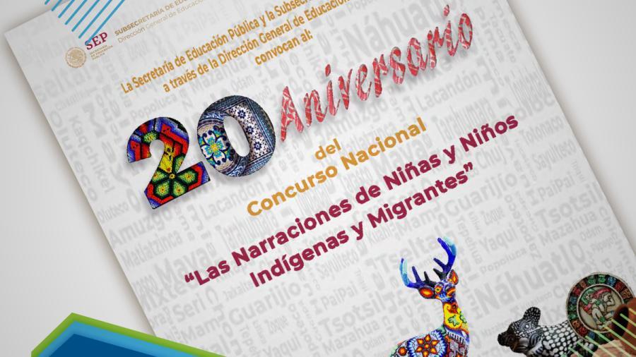 """Participa en el Concurso Nacional """"Las Narraciones de Niñas y Niños Indígenas y Migrantes"""""""