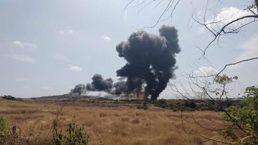 Se estrella un avión de combate durante un entrenamiento en la India