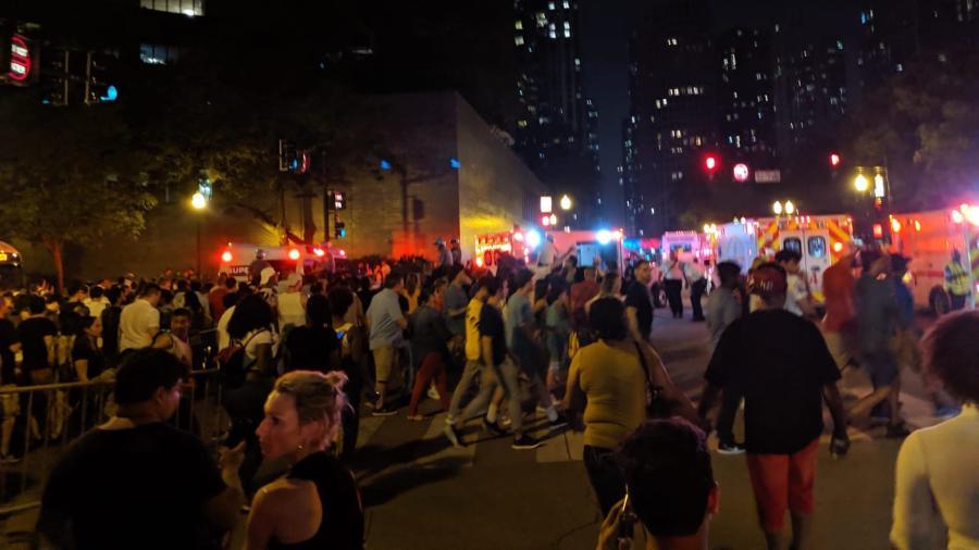 Pánico tras riña durante festejo del 4 de julio en Chicago