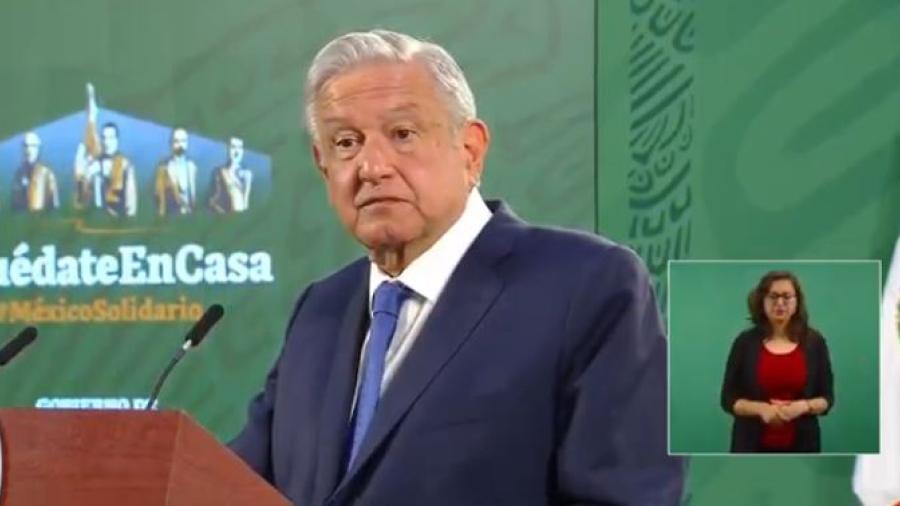 Pide AMLO se haga público expediente contra el gobernador de Tamaulipas