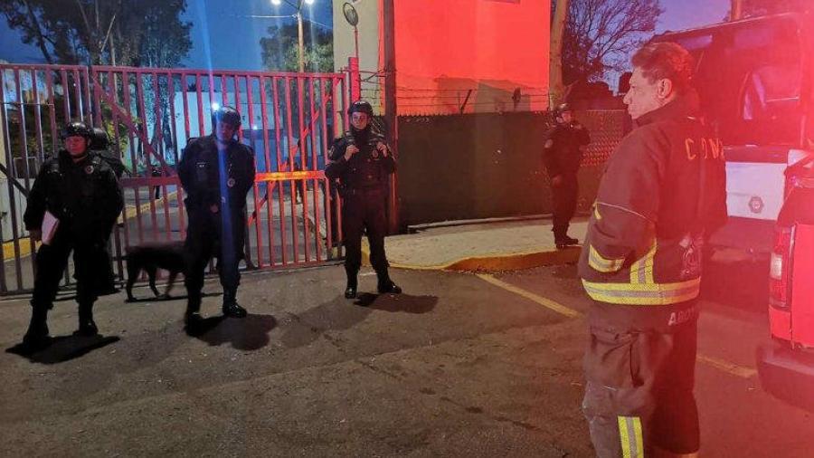 Incendio en Reclusorio Oriente deja tres fallecidos y siete lesionados