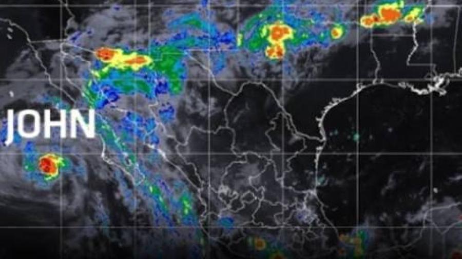 Huracán John se degrado a tormenta tropical