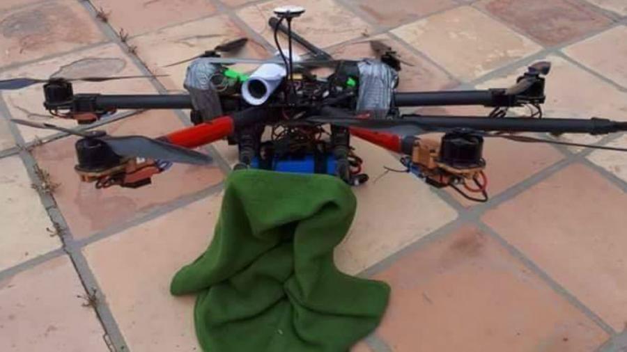 Cae dron con granadas en casa del secretario de Seguridad de BC