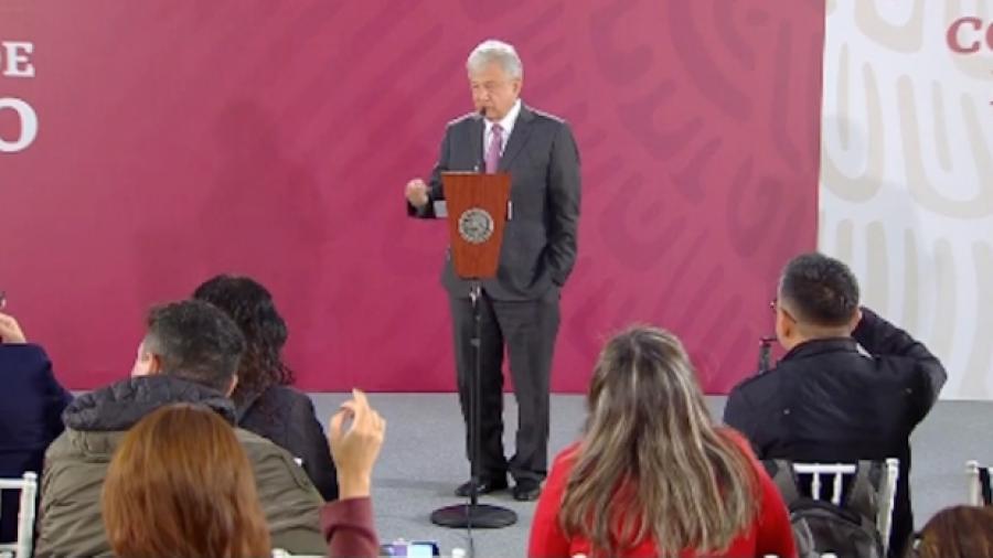 Agradece López Obrador a Trump por su felicitación