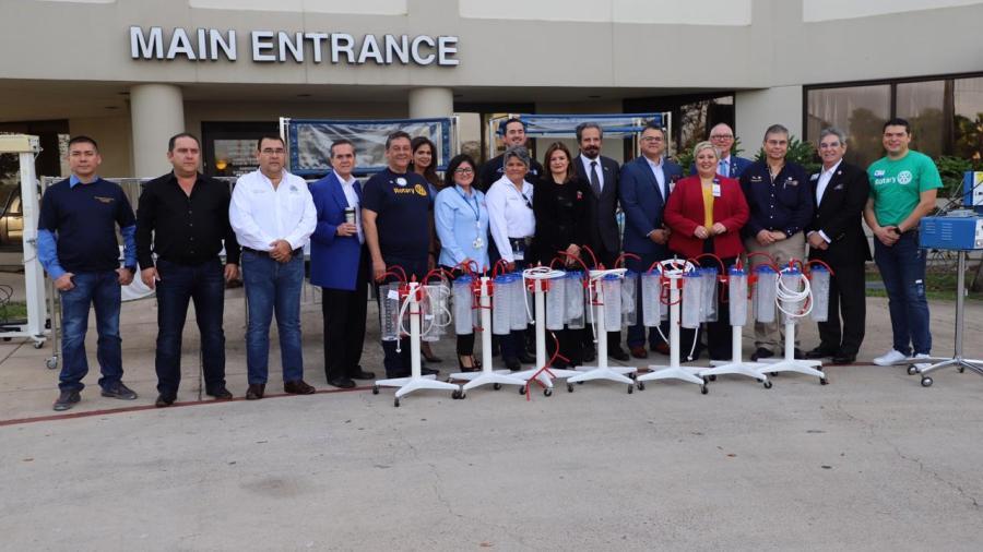 Hospital de Brownsville dona a Tamaulipas 1.2 millones de dólares en equipo médico