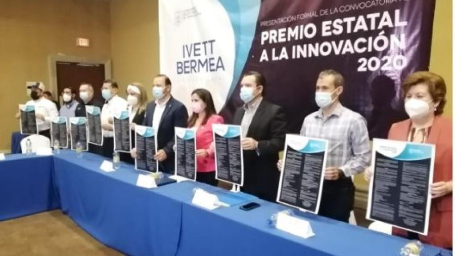 Presentan convocatoria para el Premio Estatal a la Innovación 2020