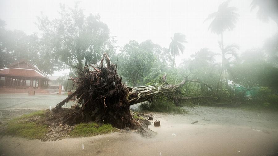 Poderosa tormenta tropical golpea el sur de Tailandia