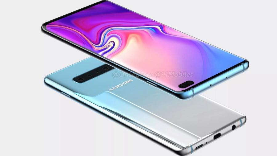 Presentan imágenes oficiales del Galaxy S10