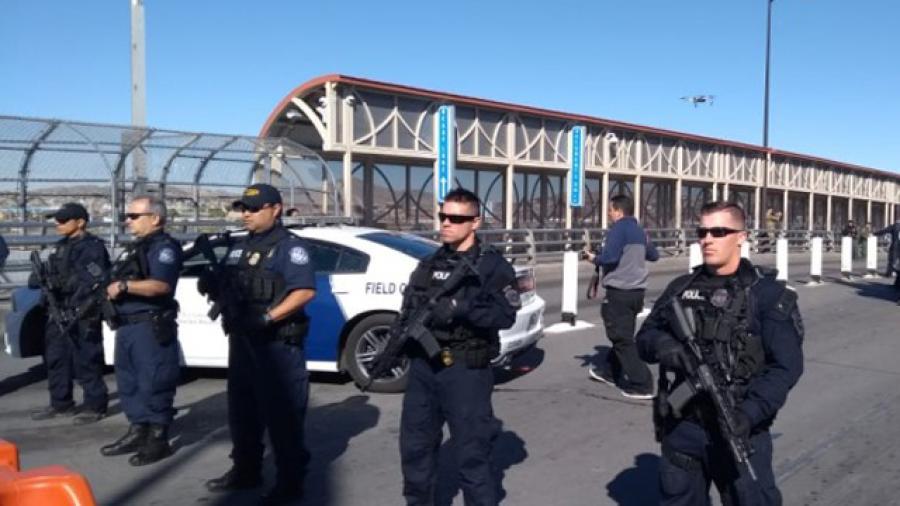 Regresan los simulacros a los puentes fronterizos