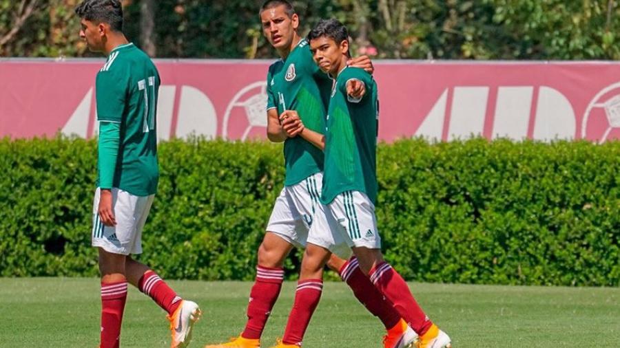 Tri sub 17 vence 6-0 a Puebla en partido amistoso