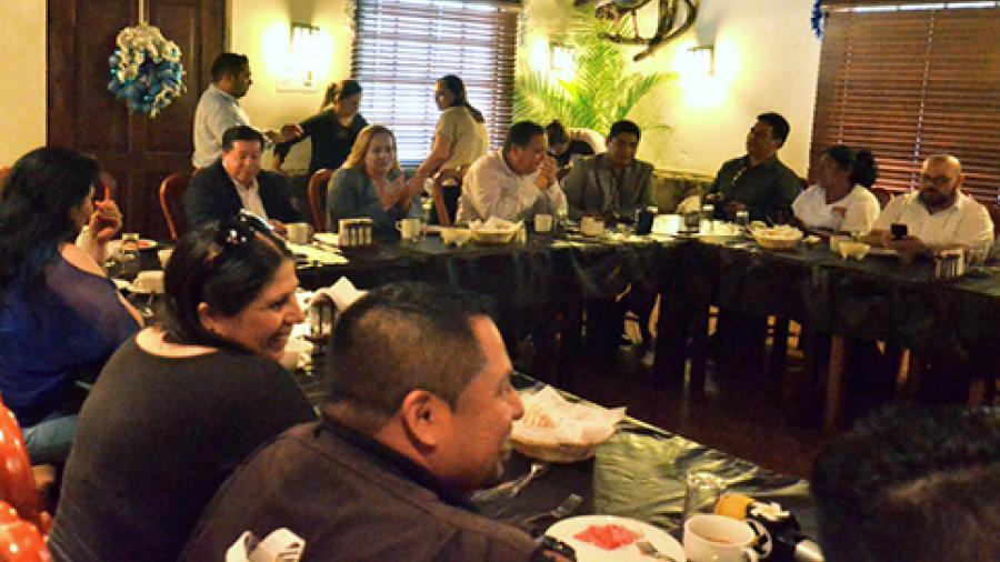 Celebran el Día del Periodista en Altamira