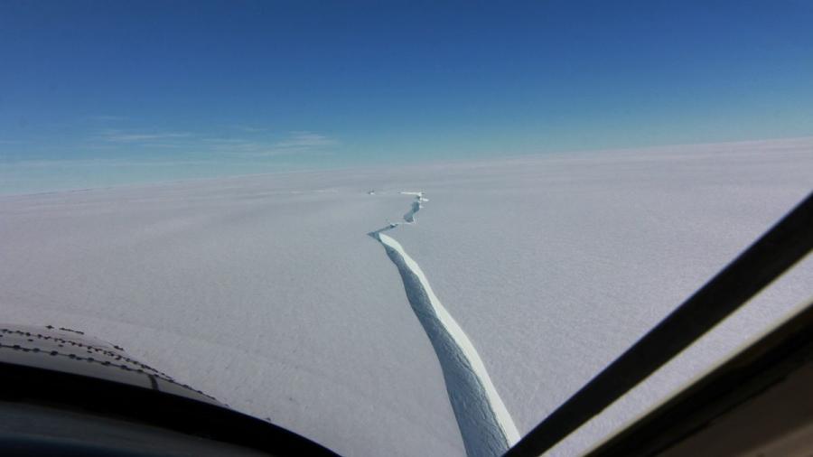 Se desprende iceberg de la Antártida del tamaño de Londres