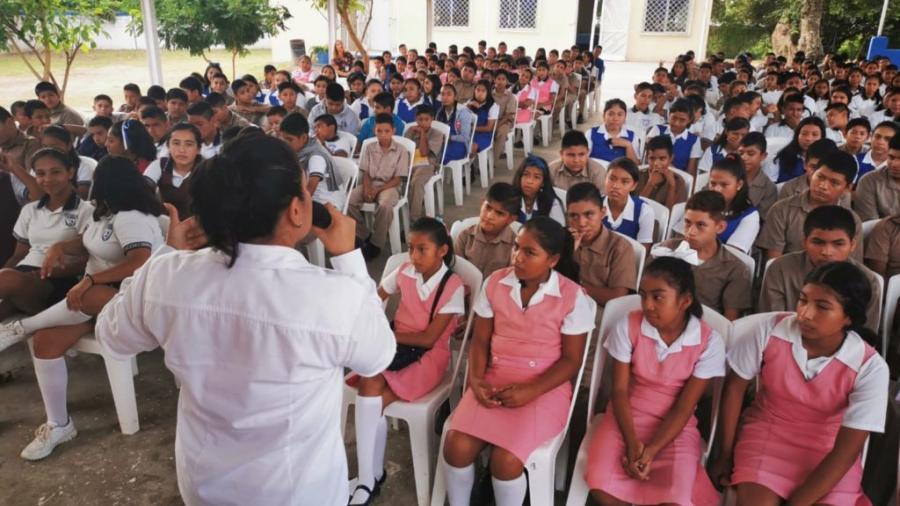 """Imparte DIF Altamira conferencia """"Prevención del Embarazo en los Adolescentes"""""""