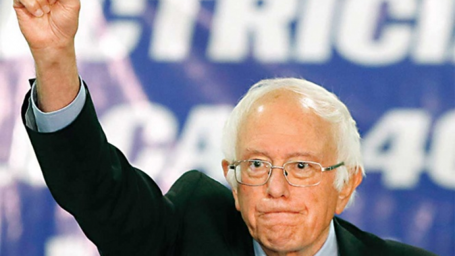 Bernie Sanders en apoyo de la comunidad migrante