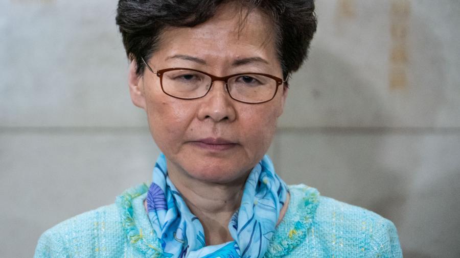 Estados Unidos sanciona a Jefa de Gobierno de Hong Kong