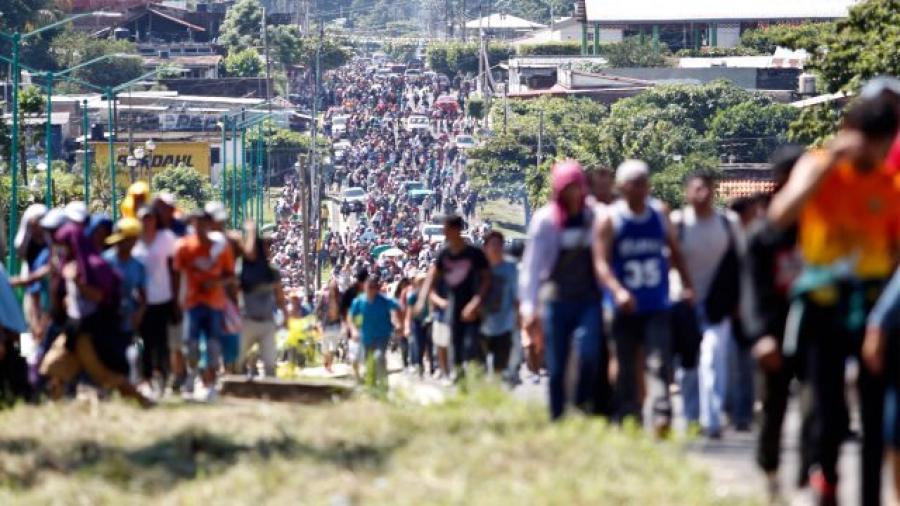9 mil 471 migrantes han entrado a México en las tres Caravanas: INM