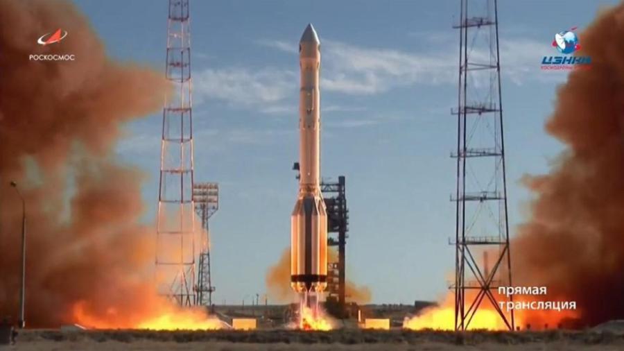 Rusia lanza el observatorio espacial Spektr-RG