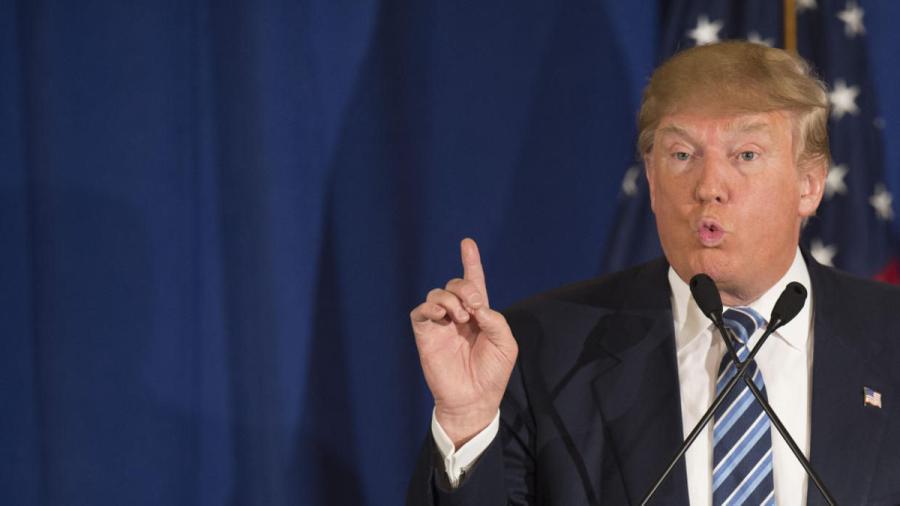 Donald Trump, autor de una página increíble en la historia de EU