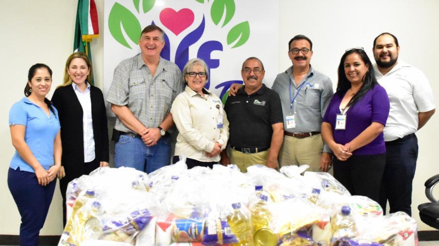 Entrega DIF Reynosa despensas a la cuarta jurisdicción sanitaria para pacientes con tuberculosis