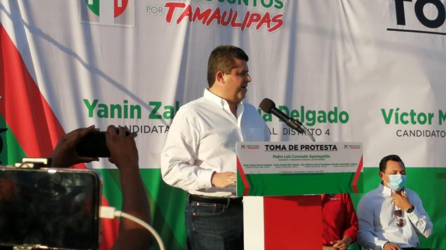 El PRI toma protesta a sus candidatos en Matamoros
