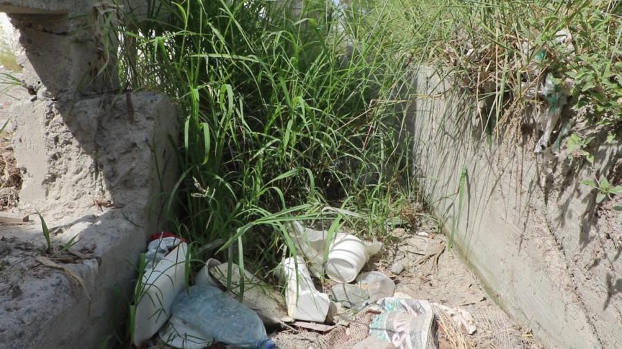 Representante del Módulo habitacional Las Margaritas, pide no tirar basura y deshechos en desagüe