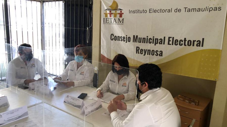 Concluyen trabajos en Consejo Municipal Electoral de Reynosa