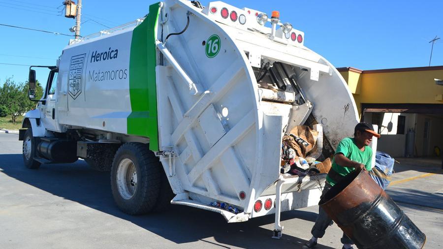 A pesar de contar con nuevas unidades no está al 100% la recolección de basura en Matamoros
