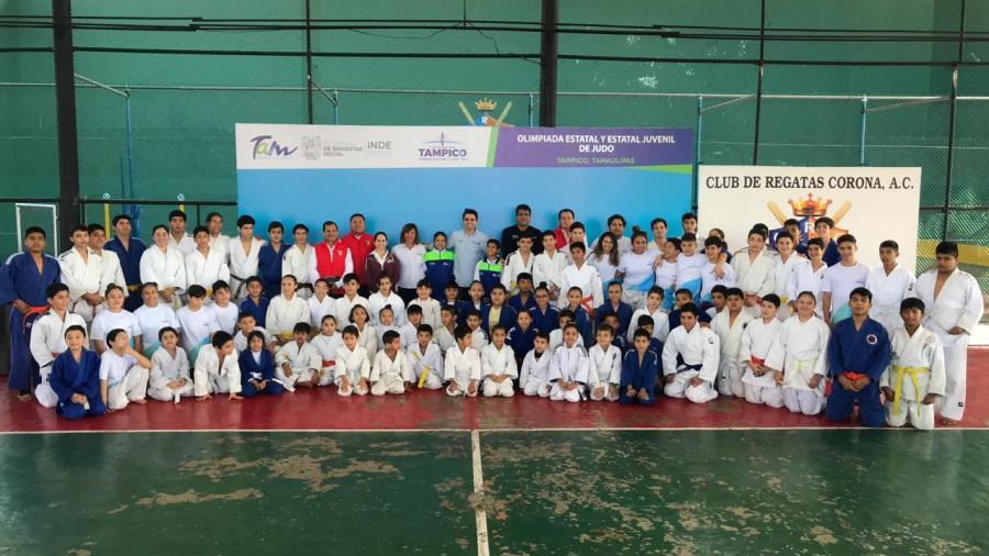 Inauguran Olimpiada estatal de Judo
