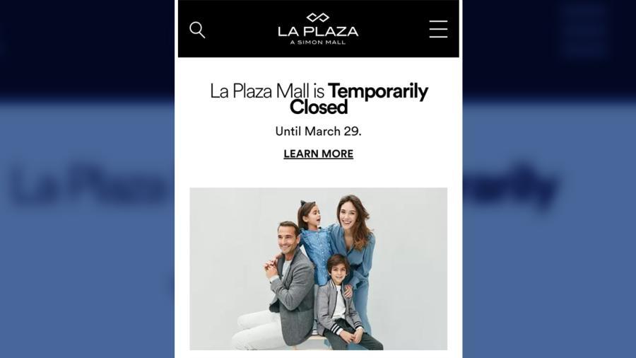 Anuncian cierre de Plaza Mall en McAllen