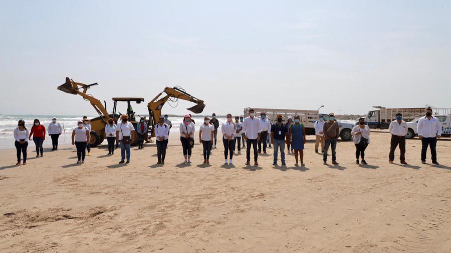 "Arranca en Altamira programa ""Playa Limpia 2021"""