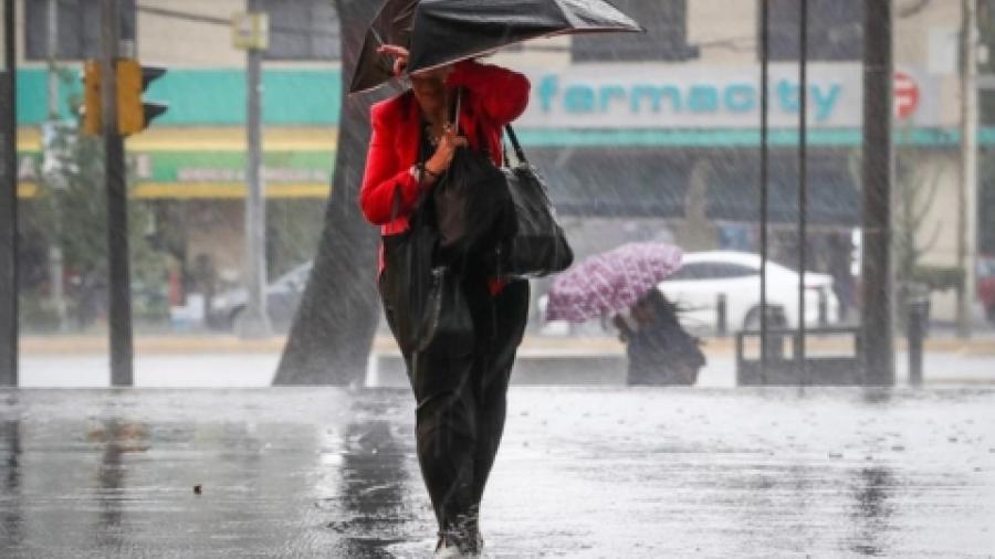 Pronóstico de lluvias puntuales muy fuertes con descargas eléctricas y caída de granizo en Sonora y Chihuahua