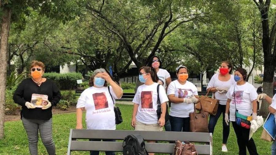 Mujeres exigen información de hijos desaparecidos en el Día de las Madres