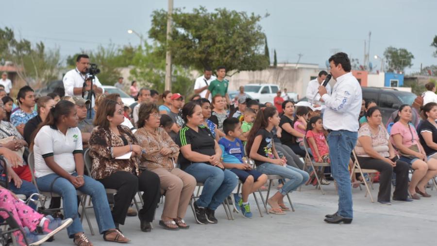 Inicia Presidente Municipal con reuniones vecinales.