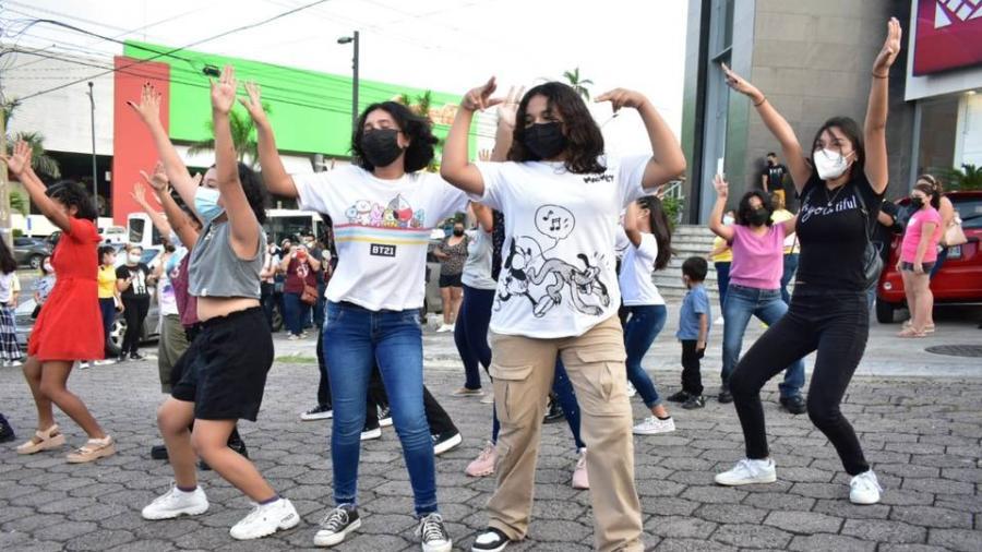 Celebran Armys de Tampico cumpleaños de Park Jimin, integrante de la banda coreana