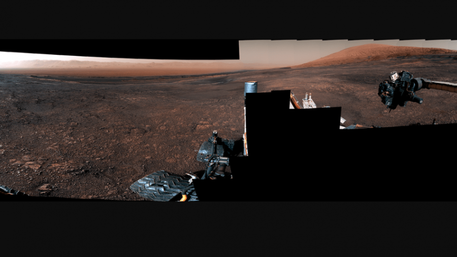 """Curiosity"" envía video 360° de Marte"
