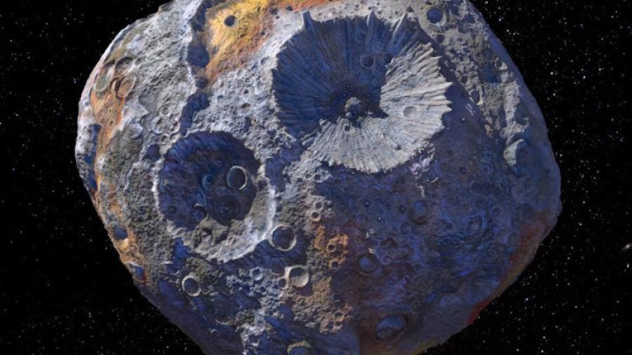 16 Psyche, el asteroide valorado en $10,000 cuatrillones de dólares