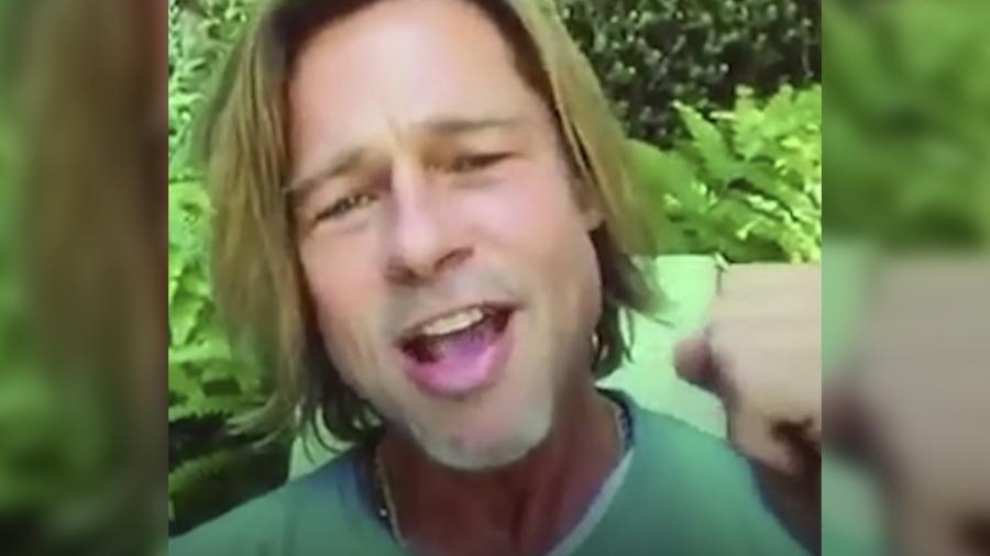 Brad Pitt sorprende a unos universitarios en su graduación