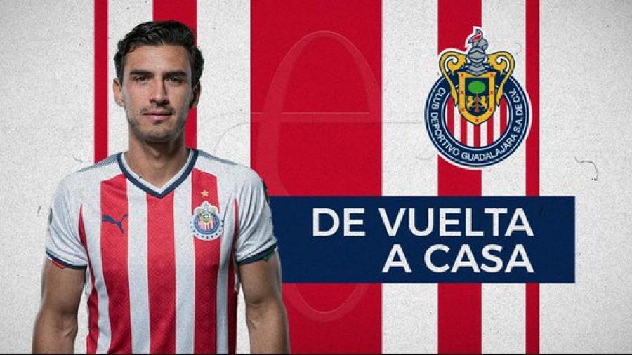 Chivas anuncia el regreso de Oswaldo Alanis