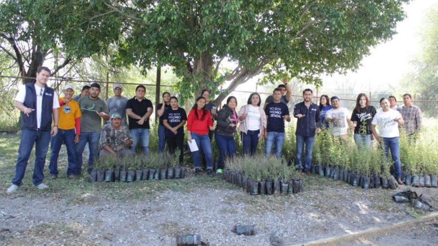 Jóvenes llevarán a cabo acciones de reforestación en Tamaulipas