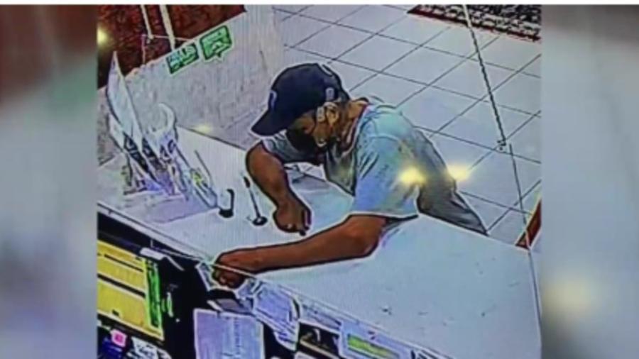 DP de Mission busca a hombre implicado en robo