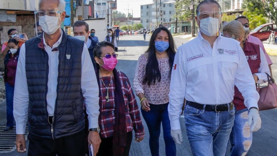 Intenso combate al rezago de pavimentación en Ciudad Madero