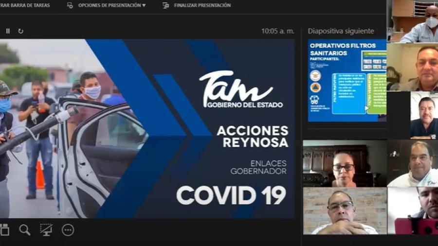 """Programas Sanitarios del Gobierno de Tamaulipas arrojan resultados positivos contra COVID-19 en Reynosa, aunque """"NO HAY QUE BAJAR LA GUARDIA"""""""