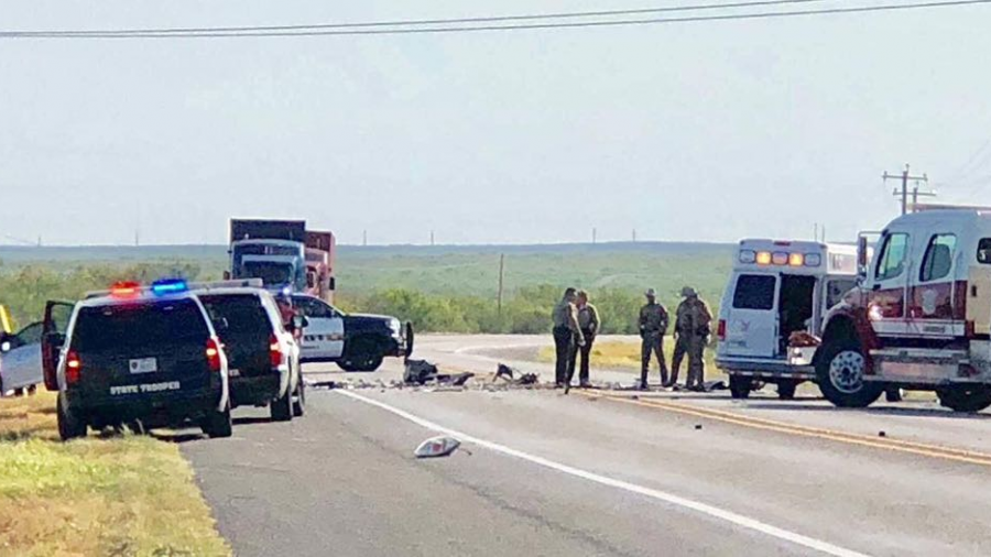 Registran accidente en autopista 35 de Laredo, Tx