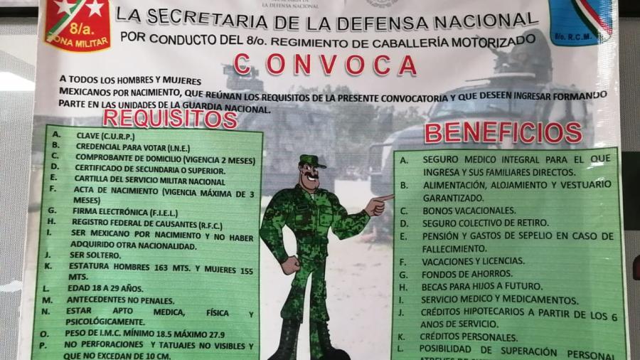 La mayoría de los jóvenes ya no le toman importancia a la Cartilla Nacional Militar: Alejandra Sosa